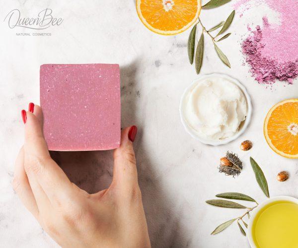 rozsaszin szappan